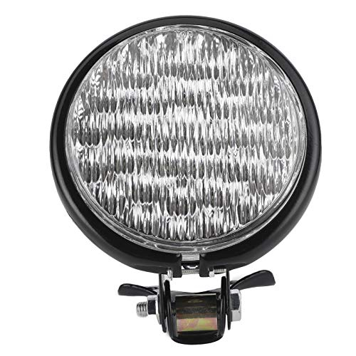 Faros delanteros para motocicleta, 35W Faros delanteros LED retro para motocicletas Faros delanteros LED para luces altas y bajas Carcasa de aluminio Universal para motocicletas de 12V