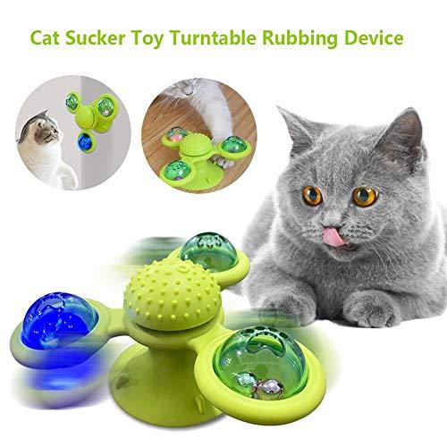 Joojun Juguete para Gatos Molino de Viento Juguetes para