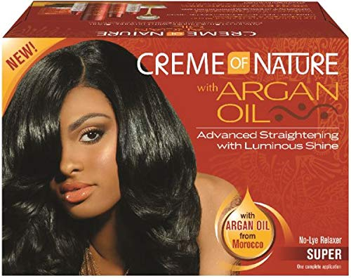Creme Of Nature With Argan Oil No Lye Relaxer [Super] (Pack of 6)
