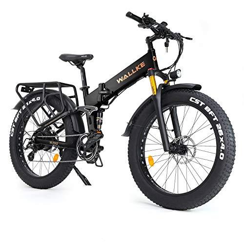 W WALLKE X3 Pro 26インチファットタイヤ電動自転車