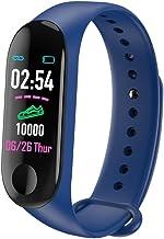 Leorealko Fltness Tracker Watch Fltness Watch Smart Watches for Men Women Smart Watch Bracelet 0.96Inch TFT Display Silicone Strap Waterproof Wristwatch