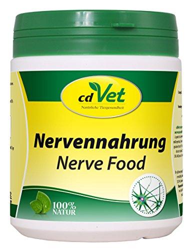 cdVet Naturprodukte Nervennahrung 450 g  - Hund, Katze - Ergänzungsfuttermittel - Beruhigung - dauerhafter Stress - gemütsregulierend - bessere Entspannung + Nervenstärke + Gelassenheit -