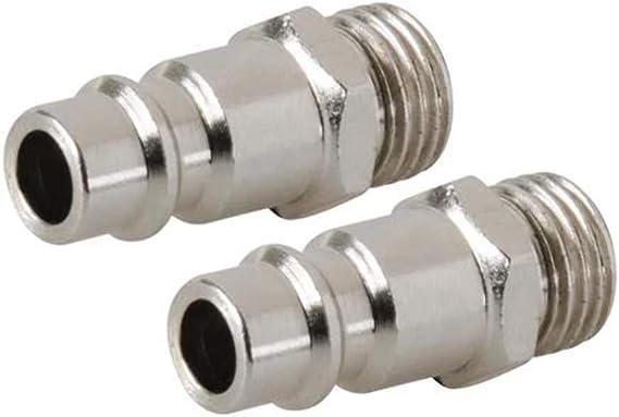 Silverline 633578 10 Metre Rubber Hose /& 237552 Coupleur rapide euro filetage pour tuyau air comprim/é
