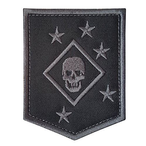 LEGEEON ACU Subdued USMC Raiders Marines MARSOC Morale Tactical Embroidery Touch Fastener Patch
