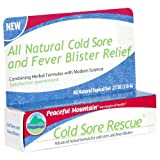 Peaceful Mountain Cold Sore Rescue, .27-Ounce Packages (Pack of 3)