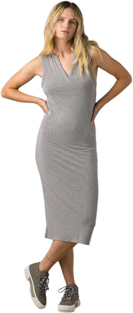 prAna Women's Foundation Midi Dress Manufacturer Popular overseas regenerated product
