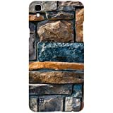 Casotec Decorative Stone Cladding Design 3D Printed Hard Back Case Cover for LG X Power
