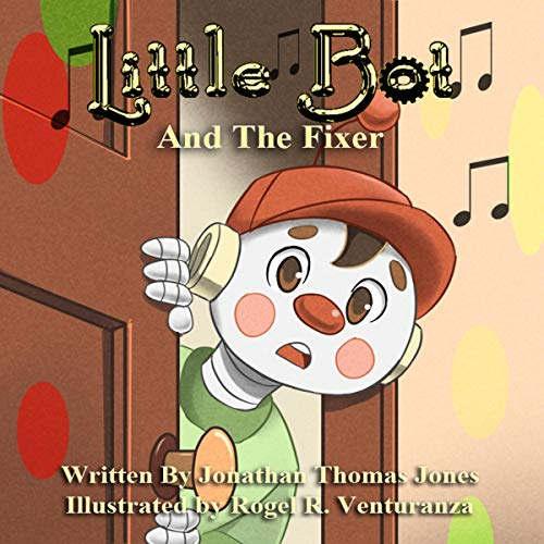 Little Bot and the Fixer audiobook cover art