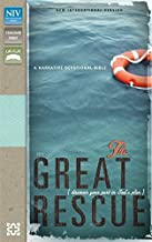 NIV, Great Rescue Bible, Imitation Leather, Blue/Brown: Discover Your Part in God's Plan