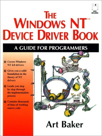 The Windows NT Device Driver Book: A Guide for Programmers
