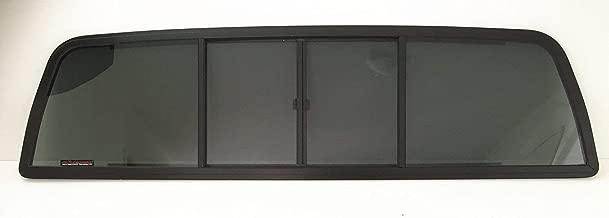 NAGD Compatible with 1973-1979 Ford F-Series Pickup Super Duty F100 F150 F250 F350 F600 F700 F800 Rear Sliding Window Glass Back Slider 4 Panel