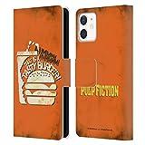 Head Case Designs Licenza Ufficiale Pulp Fiction Tasty Burger Arte Cover in Pelle a Portafoglio Compatibile con Apple iPhone 12 Mini