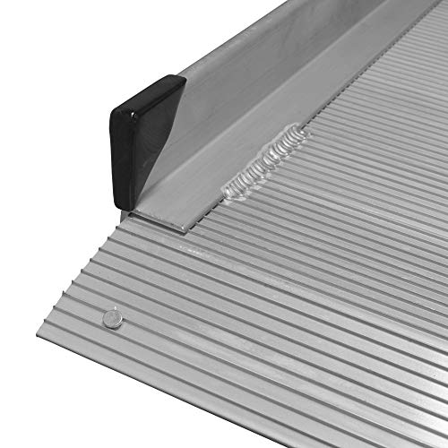 Titan 6' Aluminum Wheelchair Entry Ramp Only Solid Surface Scooter Mobility Access