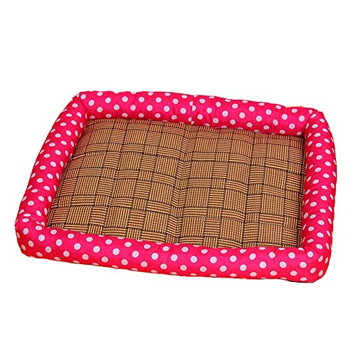 Summer pet bed pet mat Summer Cats and Dogs Kennel Bed Pad pet ice silk pad cool pad pet supplies,The best choice for all kinds of pets in summer,C,M