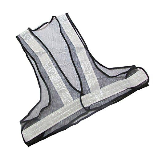 Sharplace Veste de Sécurité V Forme Gilet Sécurité Réfléchissant Vêtement Extérieur Durable