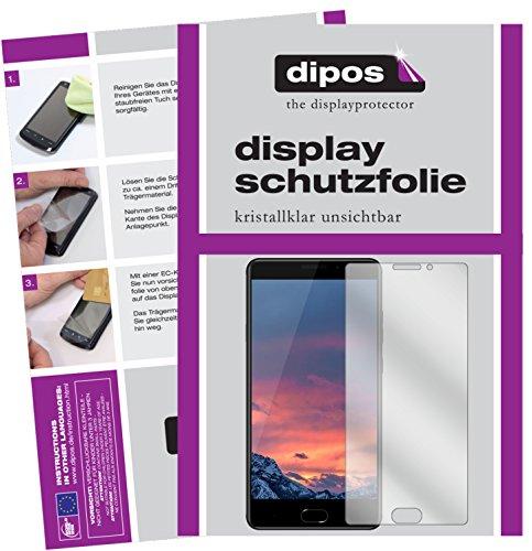 bester Test von vernee thor deutsch Dipos I2X Clear Displayschutzfolie kompatibel mit Vernee ThorPlus Displayschutzfolie
