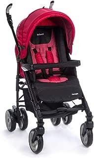 Carrinho de Bebê Perugia Infanti multicor( preto/vermelho)