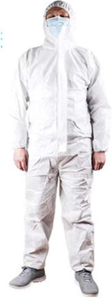 Una Vez Siameses Ropa De Protección Química A Prueba De Polvo con Capucha Ropa De Protección contra La Infección Resistente Al Agua Ropa De Protección