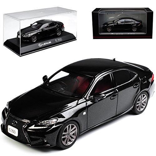 Kyosho Lexus is XE3 350 F-Sport Limousine Starlight Schwarz 3. Generation Ab 2013 1/43 Modell Auto