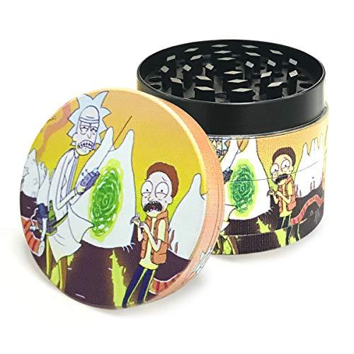 """Grinder Zinc Alloy 4 Piece 2.4"""" Large Size Herb Grinder Set"""