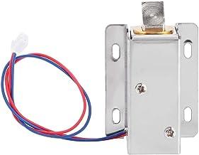 Elektromagnetische vergrendeling, DC 12 V miniatuur-elektromagneetslot, elektrische besturingsvergrendeling, 2,6 inch x 1,...