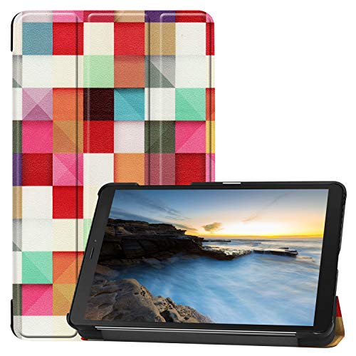 Hfly Suitable for SM-T290/295/297 Samsung Galaxy Tab A 8.0 2019 Case, Protective Case with Fold Stand Function Slim Cover for Galaxy Tab A 8.0 2019 Version T290 - C5ER