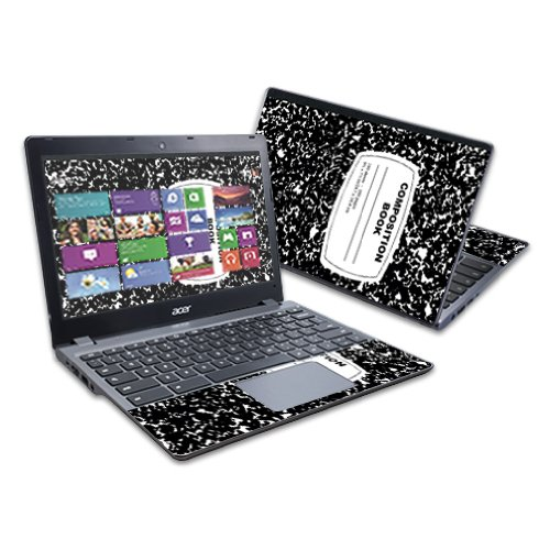 """MightySkins Skin Compatible with Acer C720 Chromebook 11.6"""" wrap Sticker Skins Compositon Book"""