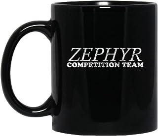 Zephyr Competition Team 11 oz. Black Mug