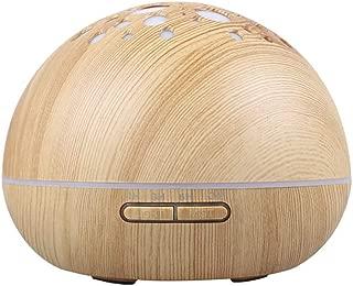 Jian E -& Ultrasonic humidifier- Air humidifier Wood Grain Aromatherapy Machine air Purifier Desktop Office Humidifier for Home car Spray /4 Color Atmosphere lamp /300mL /-/