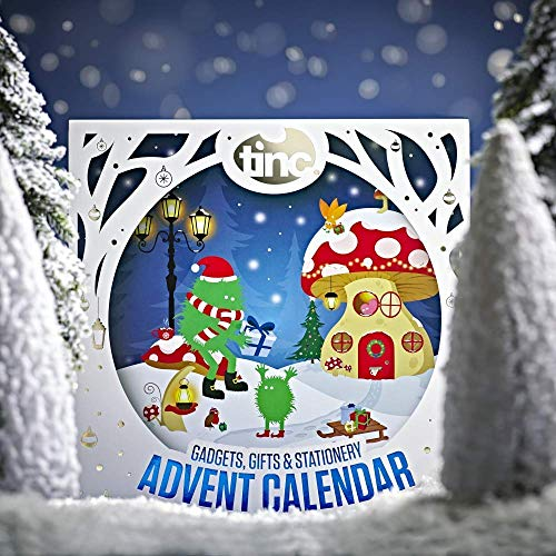 Tinc ADVENT19 Premium Geschenke und Gadgets Weihnachten Kinder Adventskalender