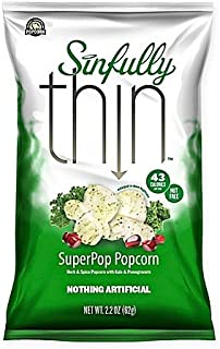Rocky Mountain Popcorn Sinfully Thin Superpop Popcorn 2.2 oz x 3 bags