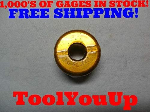 .729 SMOOTH PLAIN BORE RING GAGE .7343 -.0053 UNDERSIZE MACHINE SHOP TOOLING