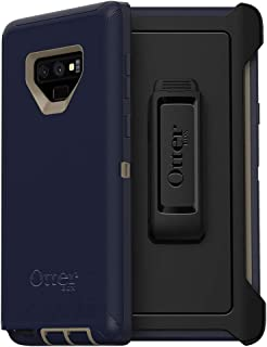 OtterBox Defender Series SCREENLESS Edition Case for Samsung Galaxy Note9 - Frustration Free Packaging - Dark Lake (Chinchilla/Dress Blues)
