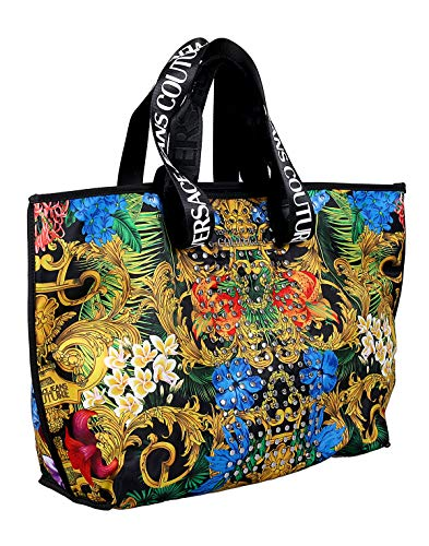 Versace Jeans Couture Multicolor Studded Large Shopper Tote Bag for womens