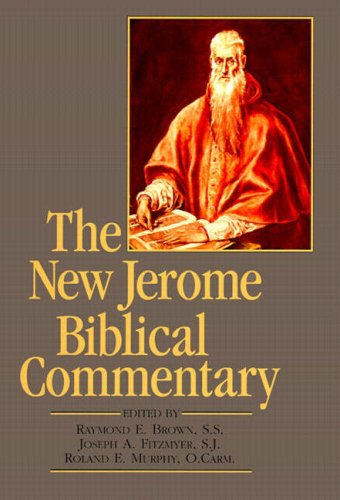 Compare Textbook Prices for New Jerome Biblical Commentary, The paperback reprint 3 Edition ISBN 9780138598365 by Brown S.S, Raymond E.,Fitzmyer, Joseph A.,Murphy, Roland E.