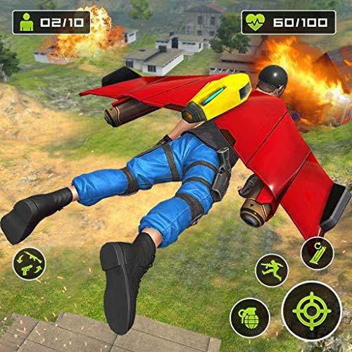 Mochila a jato Herói FPS Atirador: Livre Tiroteio jogos