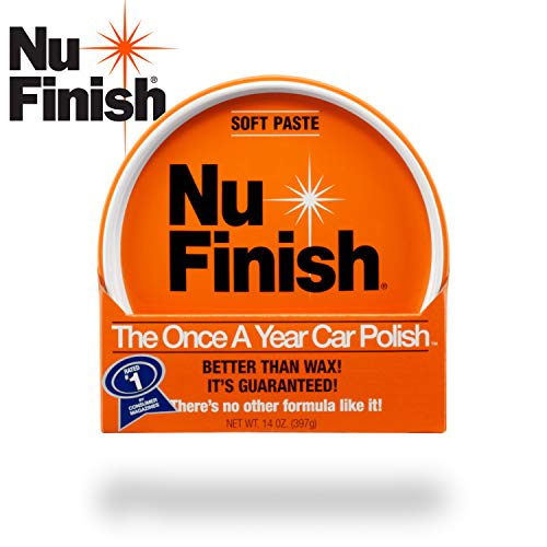 Nu Finish Paste Car Polish Better Than Wax 14 oz