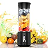 chalvh Portable Blender, 16.9 Oz Personal Blender for Shakes and Smoothies, Fruit Juice Mixer...