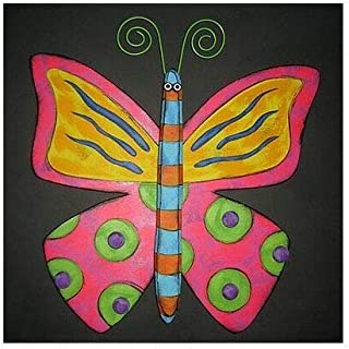 Kinks & Quirks Wall Art Butterfly by Tra Art Studio…