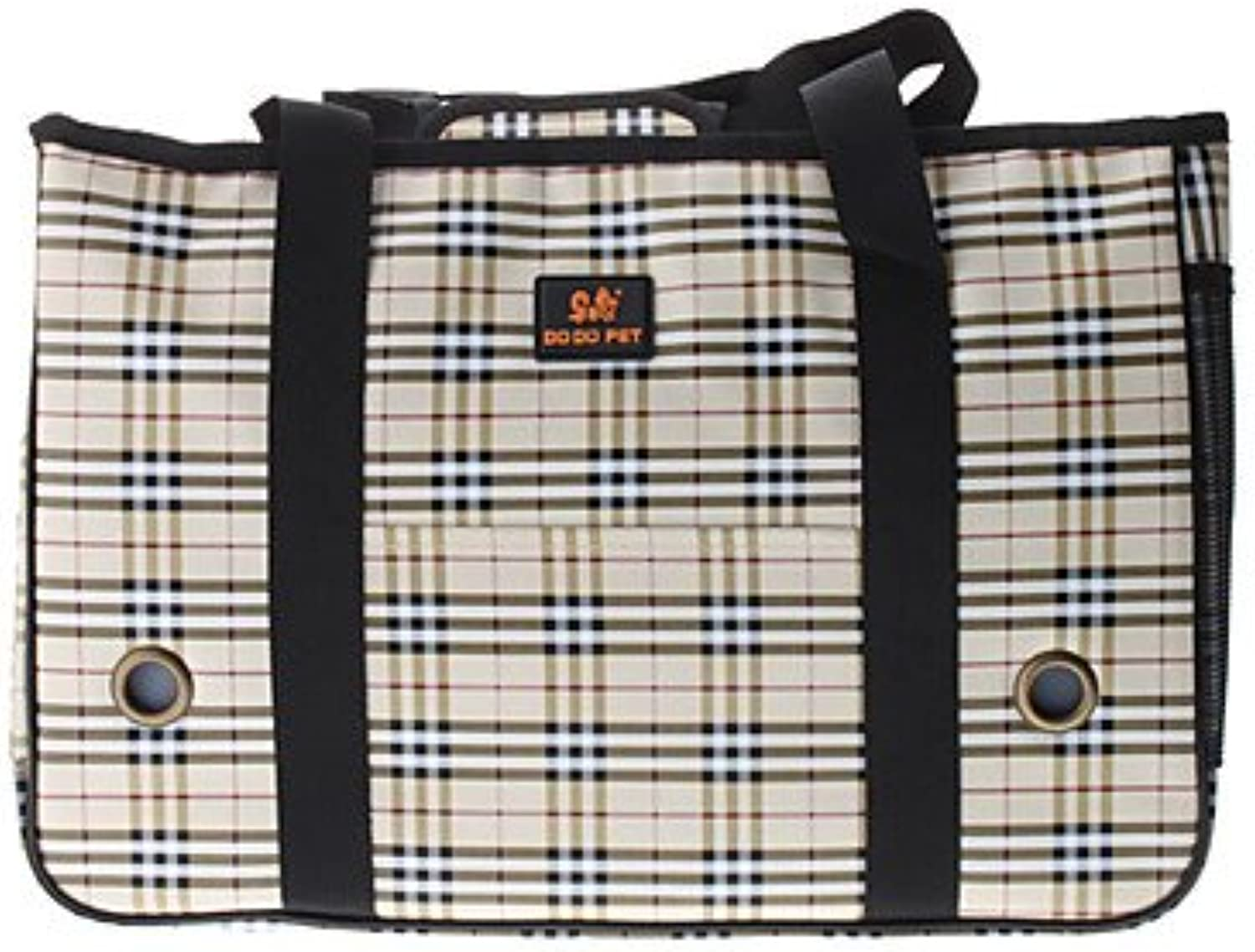 Quick shopping Plaid Pattern Style Pet Carrier for Dogs Cats