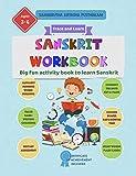 Sanskrit Workbook - Samskrutha abyasha pusthakam: Big fun activity book to learn Sanskrit (Sanskrit for kids 1)