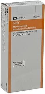MCK76672101 - Covidien Antimicrobial Dressing Telfa AMD 4 X 10 Inch Sterile