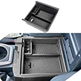 PARTEN Center Console Accessory Organizer Compatible with Toyota Tacoma 2016 2017 2018 2019 2020 2021, ABS Material Armrest Box Insert Tray