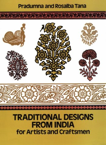 Traditional Designs from India for Artists and Craftsmen (Dover Pictorial Archive Series)