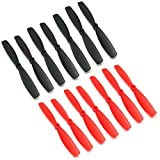RAYCorp 6045 6x4.5 Bullnose Propellers. 16 Pieces(8 CW, 8 CCW) Genuine & 6-inch Quadcopter and Multirotor Props