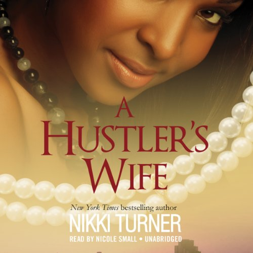 A Hustler's Wife audiobook cover art