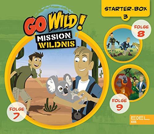 Go Wild! Mission Wildnis - Starter-Box 3 (Folgen 7 - 9) - Original-Hörspiele zur TV-Serie