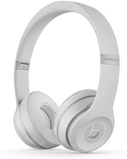 Beats Solo3 Wireless On-Ear Headphones Matte Silver - Beats by Dr Dre (Renewed)