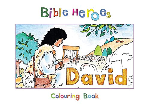Bible Heroes David (Bible Art)