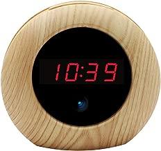 Hidden Camera Alarm Clock HD 1080P Loop Video Recording Home Security Camera with Motion Detection Remote Controller Camera